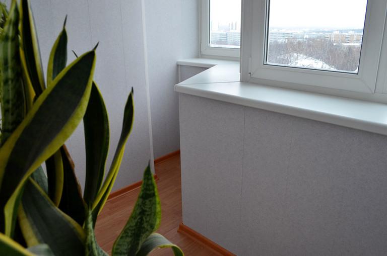 Технология утепления балкона и лоджии изнутри - статьи newba.