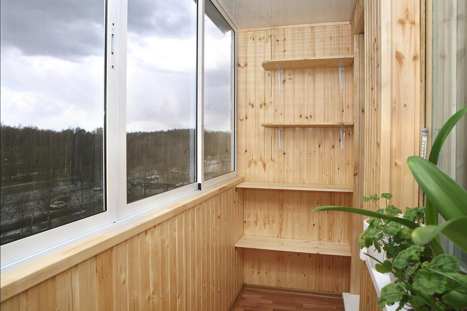 Балкон своими руками интерьер