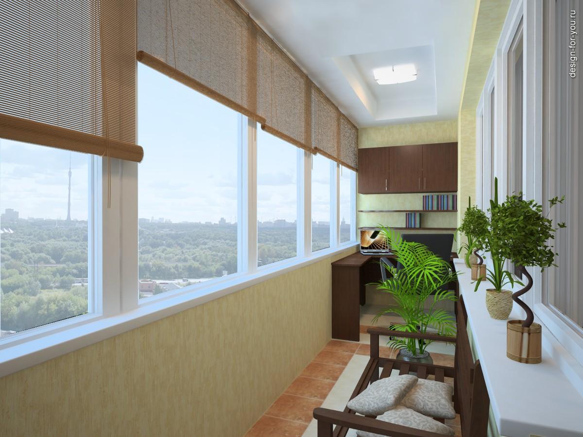 Балкон лоджия для одной квартиры.