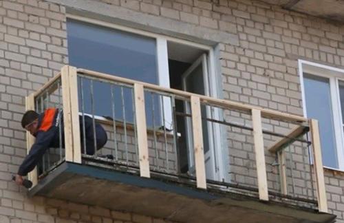 Обшить балкон своими руками снаружи фото