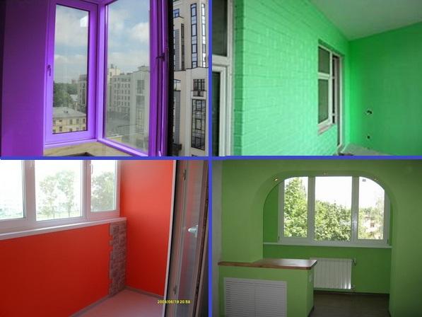 Как покрасить балкон и лоджию: советы по покраске стен newba.